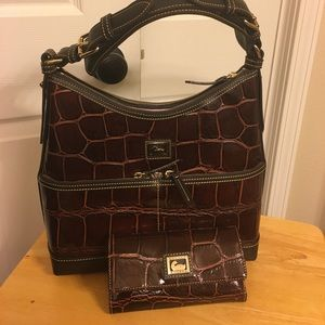 Dooney & Bourke Purse and Wallet! Distressed!