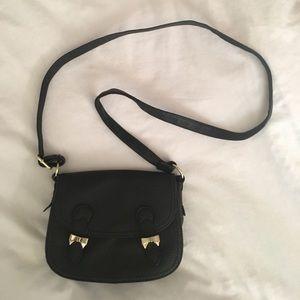 NEW Topshop Black Crossbody Bag