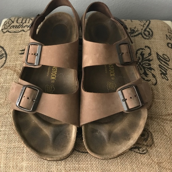 fc32e09859a birkenstock arizona leather purple sandals birkenstocks shoes for women