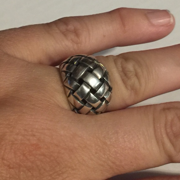 James Avery Mens Braided Ring