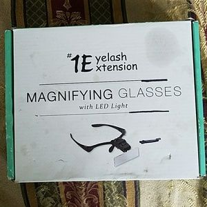 Other - Magnifying eyelash extensions glasses