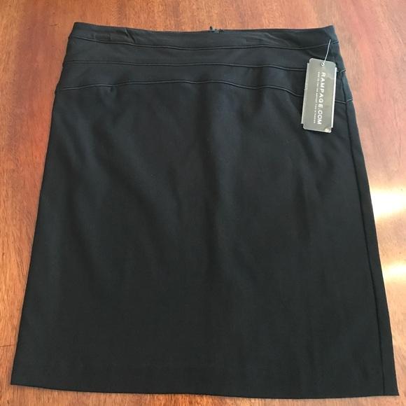 Rampage Dresses & Skirts - NWT Rampage work length skirt