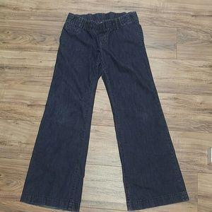 GAP Denim - Gap 1969 size 28/6 wide leg maternity jeans
