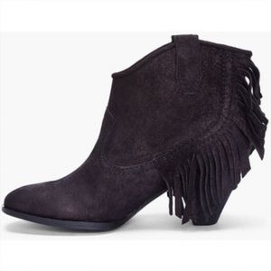 Sigerson Morrison Shoes - Belle by Sigerson Morrison Scarlett fringe booties