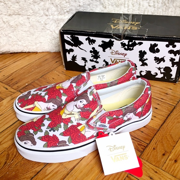 Beauty And The Beast Shoes Vans