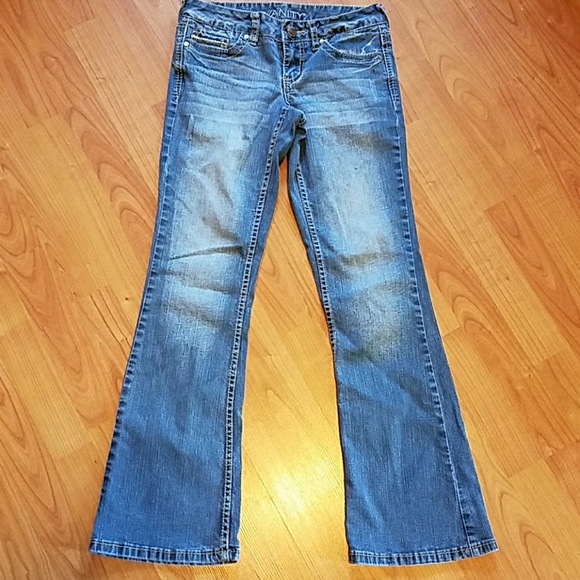 Vanity Jeans For Men : Vanity distressed bootcut jeans from