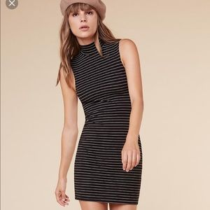 Reformation Bobbi Dress in stripe size small