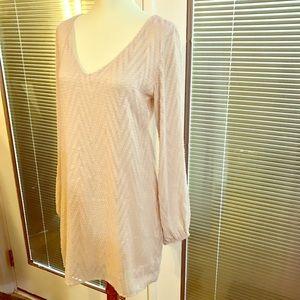 sage Dresses & Skirts - Boutique textured shift dress