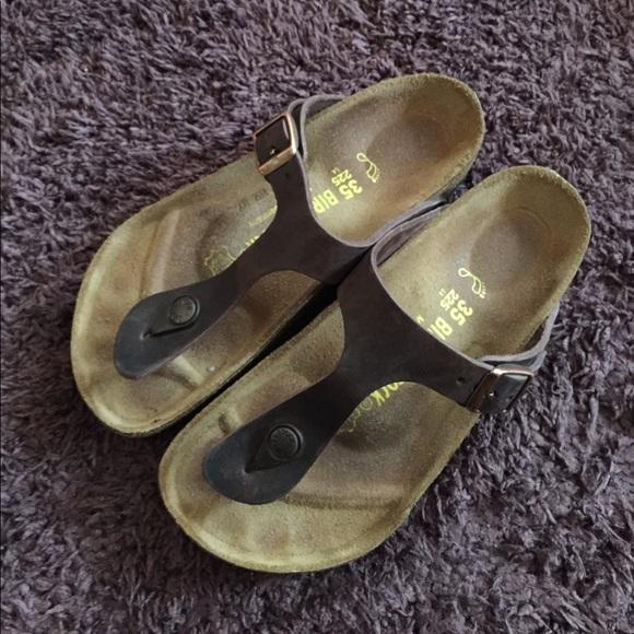 2528e041781 Birkenstock Shoes - NEW Birkenstock Dark Brown Oiled Leather Ramses