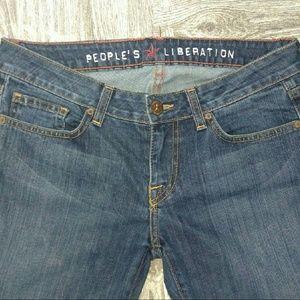 People's liberation Denim - People's Liberation Tanya straight legged Jean's