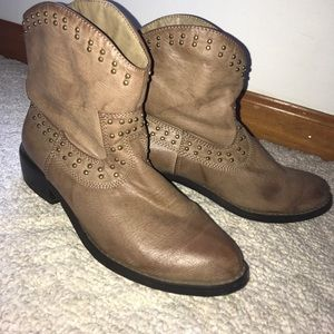 JustFab Shoes - Western Ankle boots