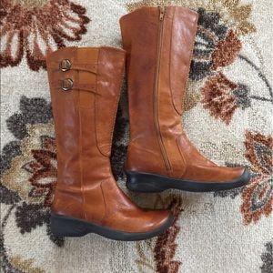Keen Shoes - KEEN Tall Leather Equestrian Riding Boots