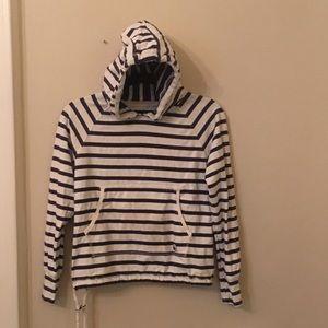 Kids Superdry striped sweatshirt