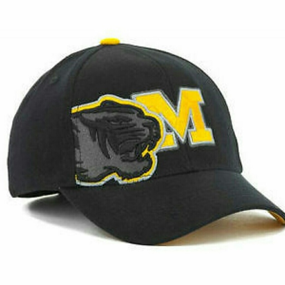 the best attitude 5d0b9 f9f4d Missouri Tigers NCAA TOW Stretch Fitted Hat. NWT. Top of the World