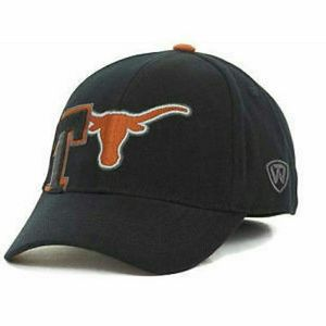 the latest de5d6 bab44 Top of the World Accessories - Texas Longhorns NCAA TOW Stretch Fitted Hat