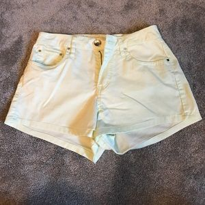 Pants - Light green shorts