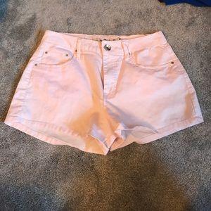 Pants - Light pink shorts