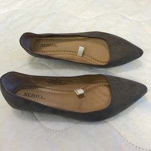 Merona dress slip on flats