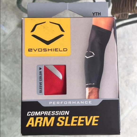 Other Evoshield Red Compression Arm Sleeve Poshmark