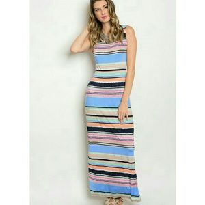 Center of Attention Maxi Dress