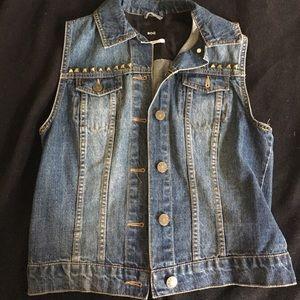 Urban outfitters brand denim vest