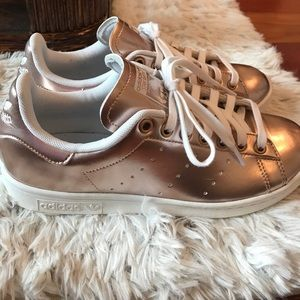 adidas Shoes - Adidas Rose Gold Stan Smith Sneakers