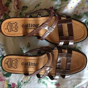 Callisto Shoes - Leather Made Sandals