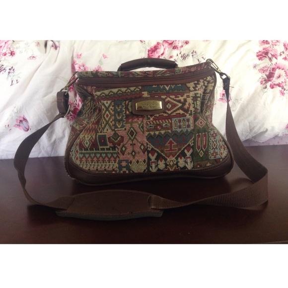 American Tourister Bags Tapestry Makeup Bag Geometric