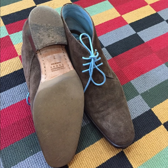 Lambertson Shoes - Lambertson Truex booties.