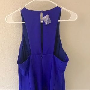 Lulu s Dresses - Lulu s Scuba Racerback Skater Dress. Royal Blue M 602dc48e6