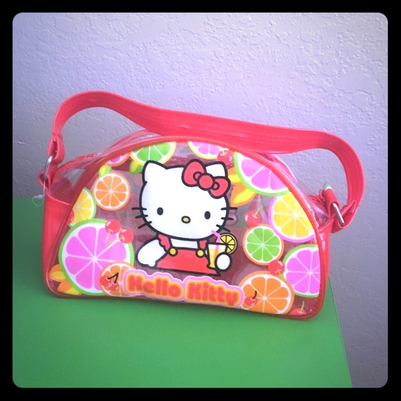 fa4a275ef6 Hello Kitty Handbags - Vintage Hello Kitty plastic purse