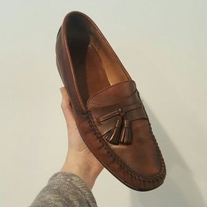 Bally Other - BALLY MENS BROWN LEATHER LOAFERS SIZE 10.5