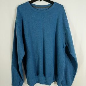 Fruit of the Loom Other - Fruit of the Loom Mens Blue Sweatshirt sz L