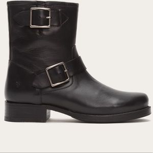 Frye Shoes - MORE PHOTOS Frye Vicky Engineer Booties, Black
