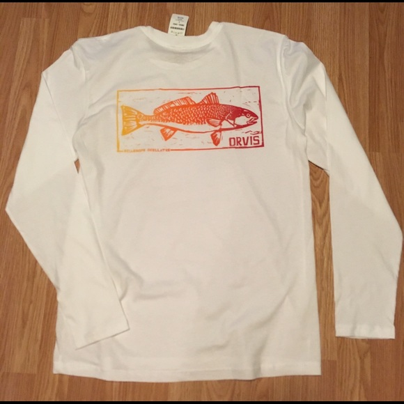 67 off orvis other orvis men 39 s white long sleeve for Orvis fishing shirts