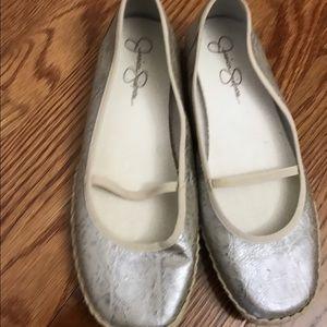 Shoes - Jessica Simpson woman's flats size 7.1:2