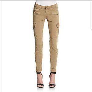 J Brand Grayson military skinny cargo pants 27