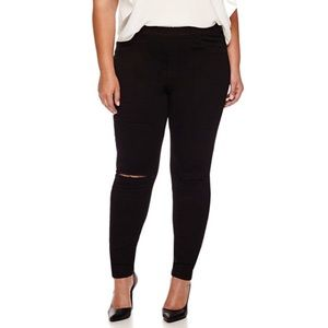 Ashley Nell Tipton Pants - Slashed Knee Legging