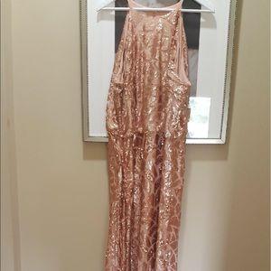 Donna Morgan Dresses & Skirts - Rose Gold Tiffany bridesmaid dress by Donna Morgan