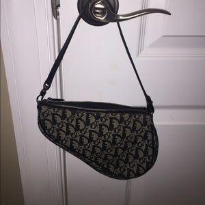 Christian Dior Saddle Bag- Authentic! like new