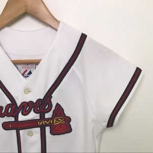 Majestic Tops - Authentic Braves Jersey