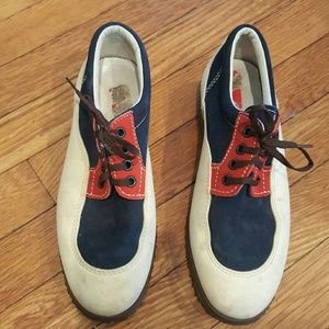 Hogan Shoes - HOGAN 37.5 RED WHITE AND BLUE SNEAKERS