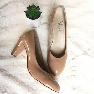 Agl Shoes - AGL nude pumps
