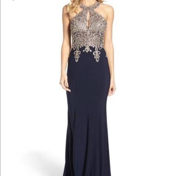 Xscape Embellished Trumpet Gown | Poshmark