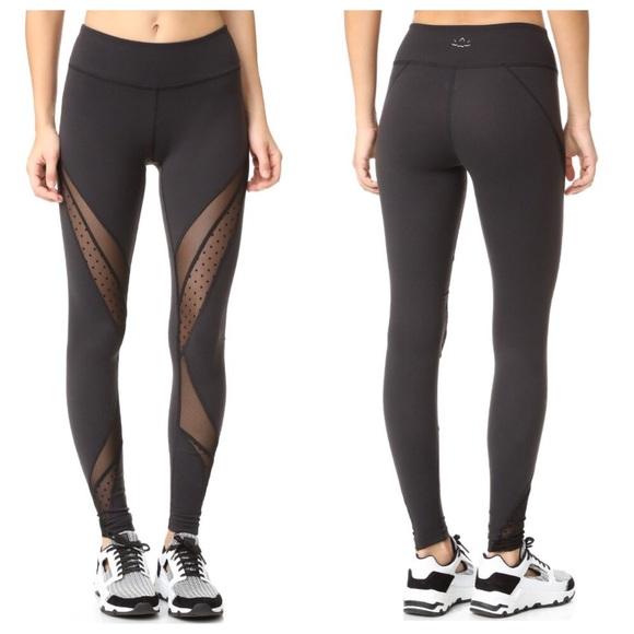 Beyond Fitness Leggings: New Beyond Yoga Polka Dot Mesh Leggings