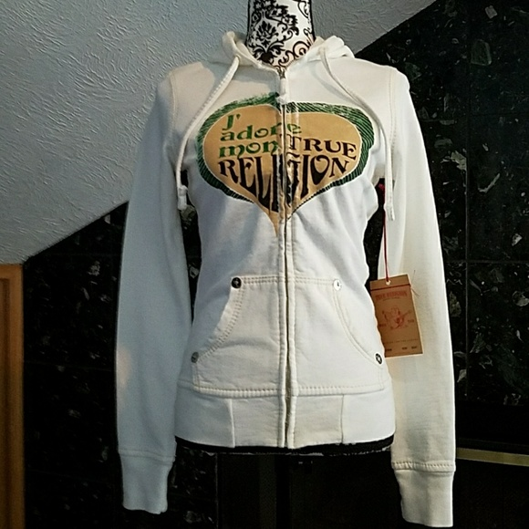 24d0d5c68 ❤RARE💋J adore Mon True Religion hoodie