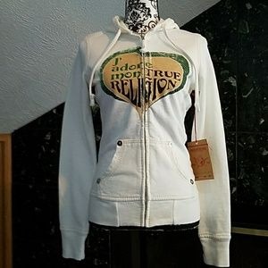 ❤RARE💋J'adore Mon True Religion hoodie