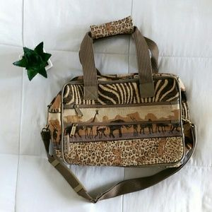 Weekend Road Trip Traveler Safari Bag
