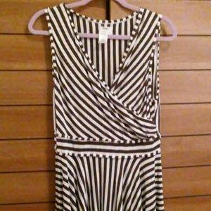 Sophie Max Dresses & Skirts - Sophie Max Women's Striped Dress