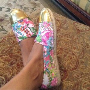 NEW LISTING LILLY PULITZER espadrilles for target